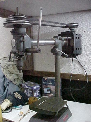 Rockwell 32 Radial Drill Press Model 11 280