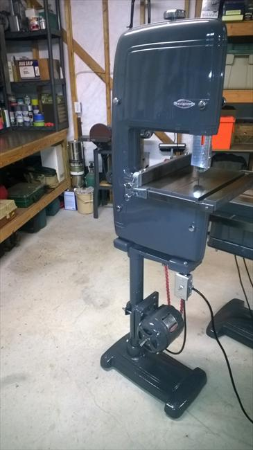 Craftsman King Seeley Bandsaw For Sale