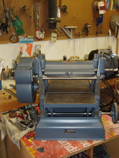 Photo Index  Parks Woodworking Machine Co  1121901 CraftsmanParks Planer 12