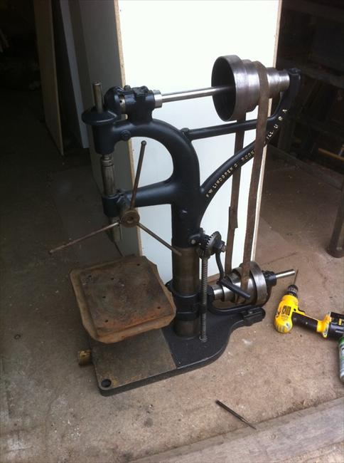 Photo Index F W Lindgren Co Camelback Bench Drill