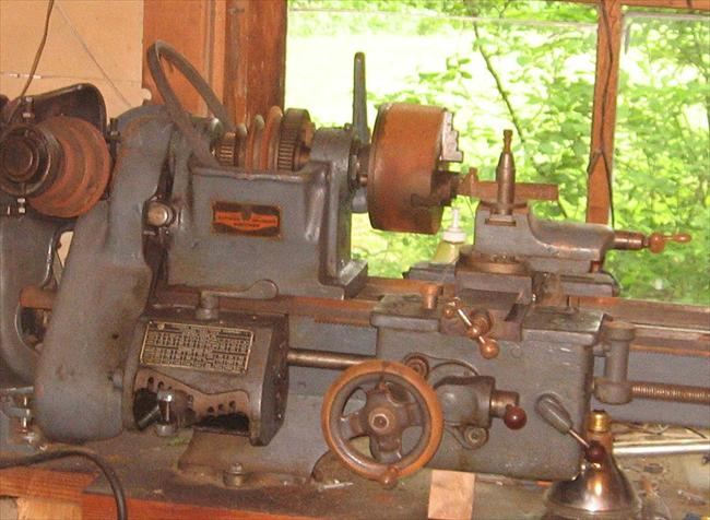 Old Clausing Lathe