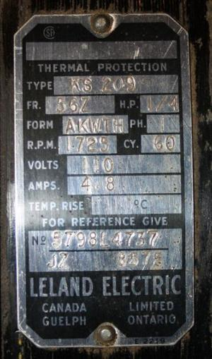 Photo Index  Leland Electric Co  Leland Electric KS 209