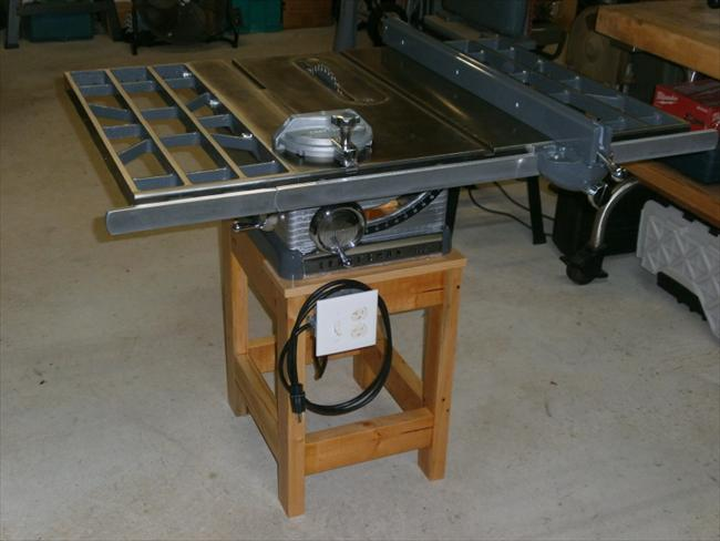 Vintage Craftsman Table Saw Extensions