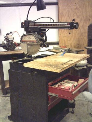Craftsman 12 Radial Arm Saw