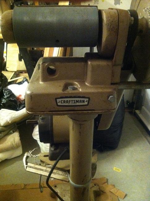 Photo Index  Sears  Craftsman  10322500 9 Disk6x48 Belt Sander  VintageMachineryorg