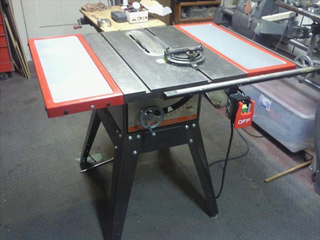 Delta Table Saw Rails