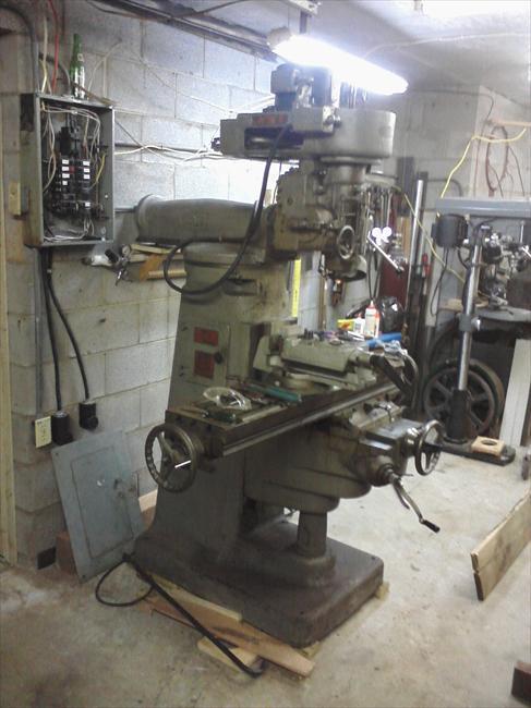 Wells Index Milling Machine