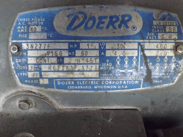 Motor Wiring Diagram Likewise Doerr Electric Motors Wiring Diagram On