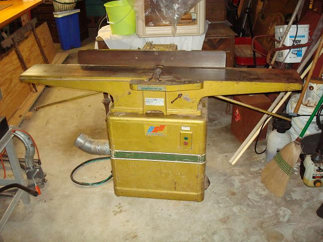 Powermatic Model 60 Jointer