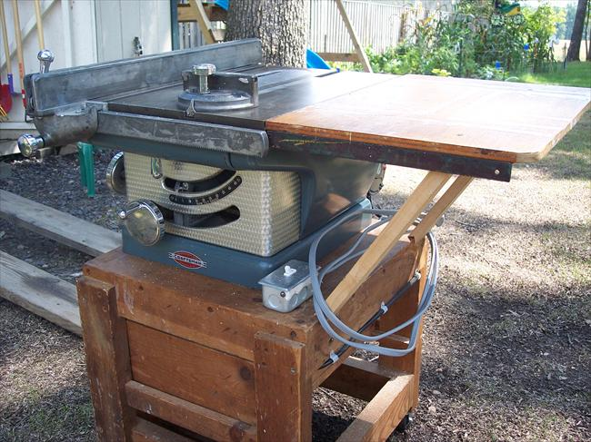 Vintage Sears Table Saw