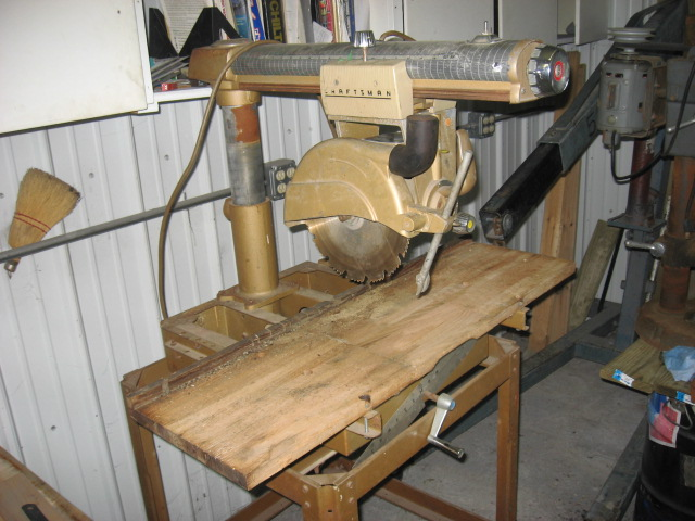 1959 Craftsman Radial Arm Saw