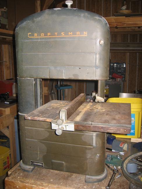 Photo Index  Sears  Craftsman  1030103 Band Saw