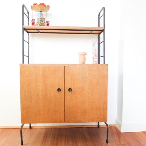Petit meuble d'appoint années 50