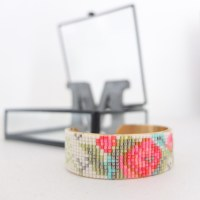 Le printemps - bracelet