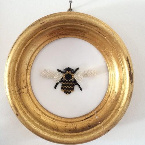 L'abeille & cadre Napoléon 3.