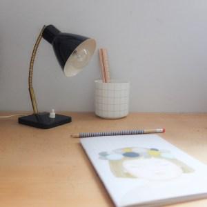 Lampe cocotte des années 50-60
