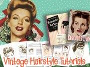 1940s hairstyle tutorials vintage