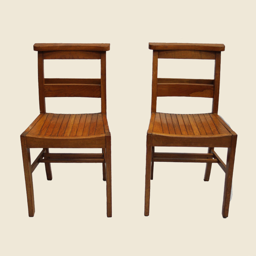 Vintage School Chairs Vintage Wooden School Chairs
