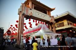 Port Louis China Town Mauritius Entrance