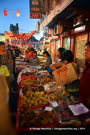 Port Louis China Town Mauritius Festival Foodstuffs