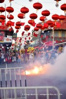 Port Louis China Town Festival Fire Crackers