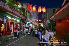 Port Louis China Town Mauritius Festival Ding Dong Restaurant