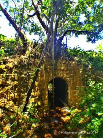 The Bridge below the tracks