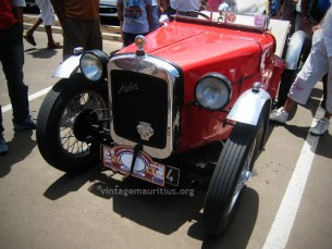 Austin 7 Red Front