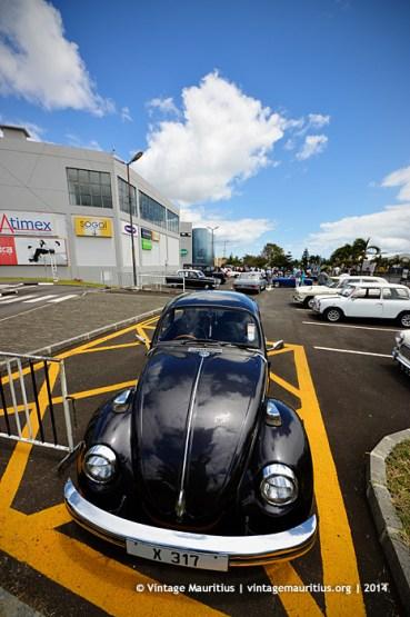 Black VW Beetle Classic Vintage Car Mauritius