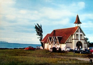 Cap Malheureux - Notre Dame Auxiliatrice Church - Mauritius - 1963