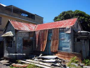 Cassis Port Louis Old Creole House abandoned