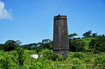 Chamarel Old Sugar Mill Chimney