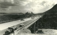 Construction of Motorway at Coleville Bridge - Montagne Ory - Mauritius - 1962