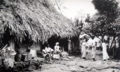 Culture - Village Lifestyle - Straw House - 1950s