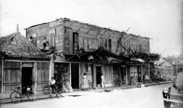 Cyclone Carol - Royal Road - Curepipe - Feb 1960