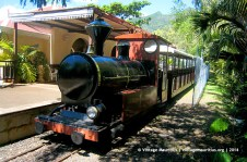 Domaine les Pailles Old Tourist Tramway (still operational)