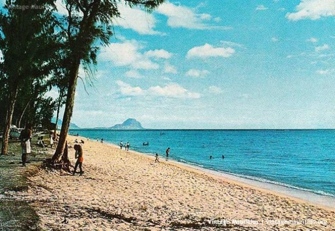 Flic en Flac - Beach - Mauritius - 1980s