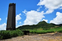 L'Industrie Old Sugar Mill Chimney