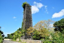 La Lucie Old Sugar Mill Chimney and Ruins