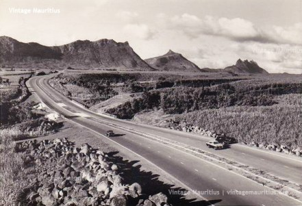 M1 Motorway Reduit Mauritius 1960s