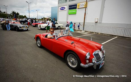 MG A Classic Vintage Car Mauritius