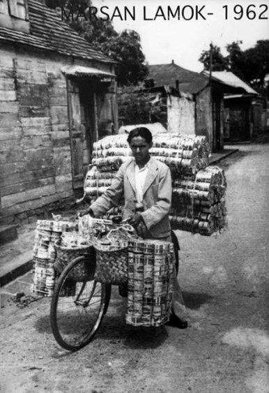 Mauritius - Marchand Lamok - Tin Can Seller - 1962