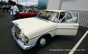 Mercedes 220S Classic Vintage Car Mauritius