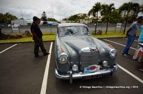 Mercedes Classic Vintage Car Mauritius