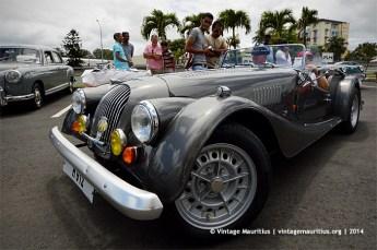 Morgan Classic Vintage Car Mauritius