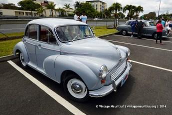 Morris Minor Classic Vintage Car Mauritius