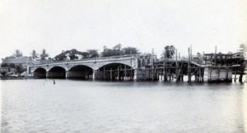 New Higginson Bridge. 4 arches