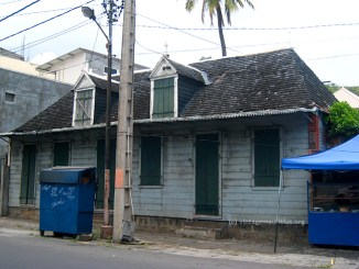 Old Port Louis Route Pamplemousses Colonial House Building