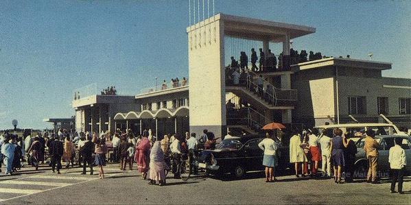 Plaisance Airport - Departures - 1965