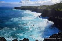 Pont Naturel - Mauritius - Crashing Waves and Cliffs - 2014